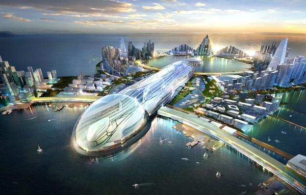 Vize města EightCity, Zdroj: EightCity Development