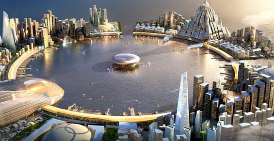 Jak moc je představa města vzdálená současnosti? Zdroj: EightCity Development