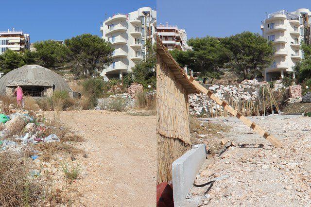 FOTO: Albánský bunkr v Sarande