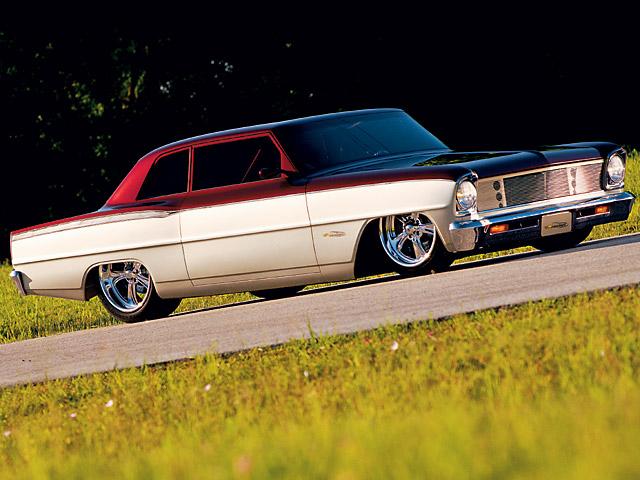 Chevrolet Nova. Auto, které ve Španělsku nejede. Zdroj: popularhotrodding.com