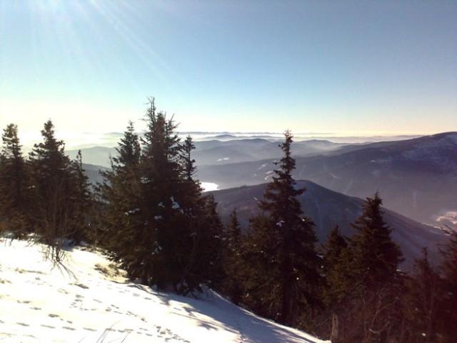 Panorama z Lysé hory, Foto: Eva Řeháková, Jenprocestovatele.cz