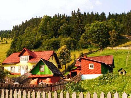 Oblast Bukovina je dnes rozdělena na severní ukrajinskou část a jižní rumunskou část, FOTO: Archiv Aliny Eleny Orel