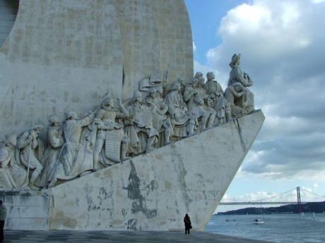 FOTO: Portugalský památník objevitelům