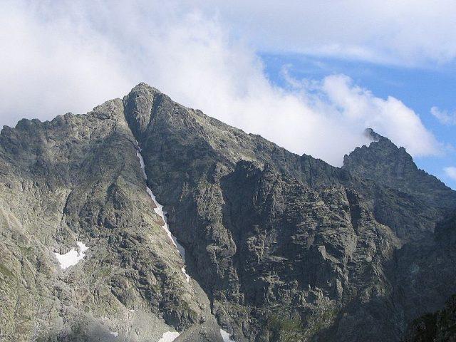 Pohoří Rysy v Tatrách. Zdroj: wikimedia.org