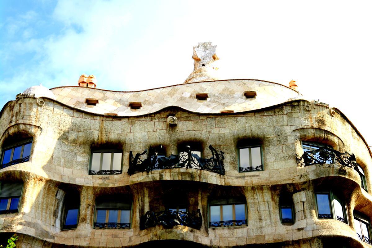 Gaudí na každém kroku, Casa Milo, Foto: Markéta Dudková, JenProCestovatele.