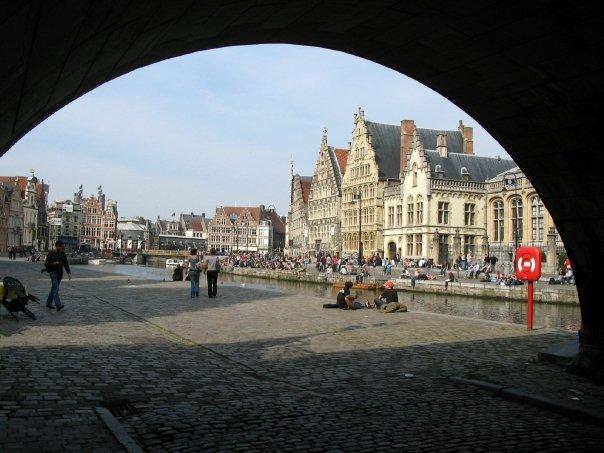 Gent má díky kanálům spojení i s mořem, Foto: Marketa Dudkova, www.JenProCestovatele.cz