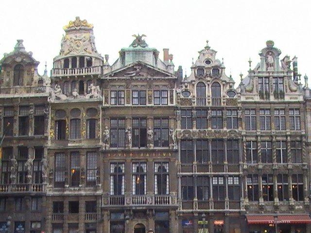 Domy na Grande Place připomínají koráby, Foto: Marketa Dudkova, www.JenProCestovatele.cz