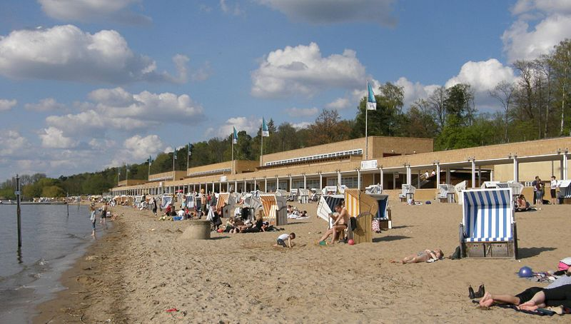 Berlínská městská pláž, Zdrj: Axel Mauruszat, wikimedia.org