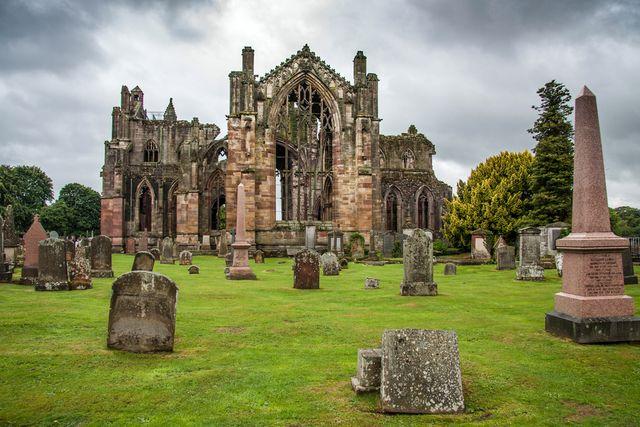 Melrose Abbey, Zdroj: Shutterstock.com