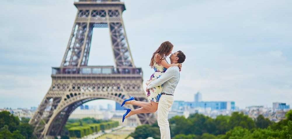 Nejromantičtější město Paříž a Eifellova věž