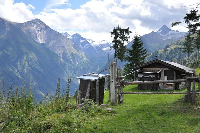 Rakouské Alpy Kaprun, Zdroj: pixabay.com