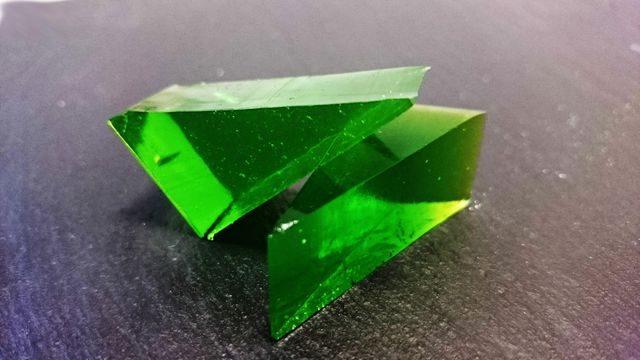 Zelená v kostce