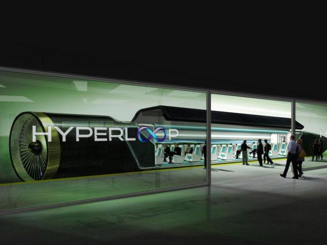 hyperloop cestování rychlovlak