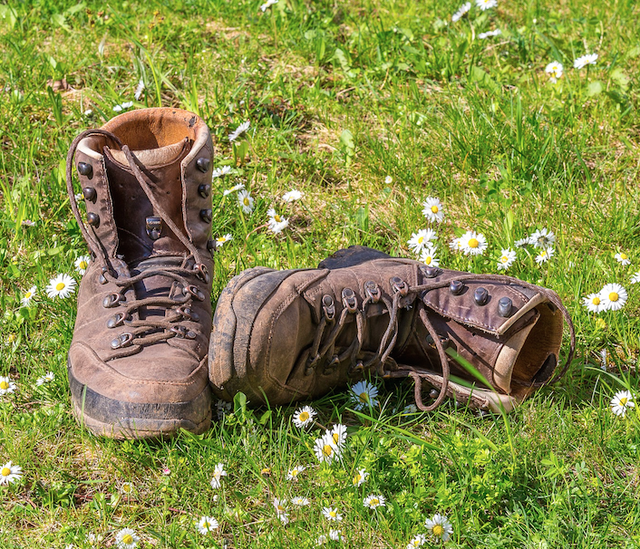 Co s sebou na výlet, kvalitní boty