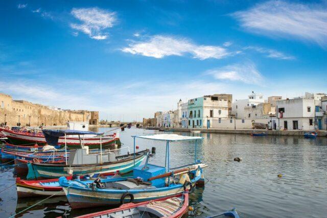 Město Bizerte, Tunisko, kam za exotikou v červnu