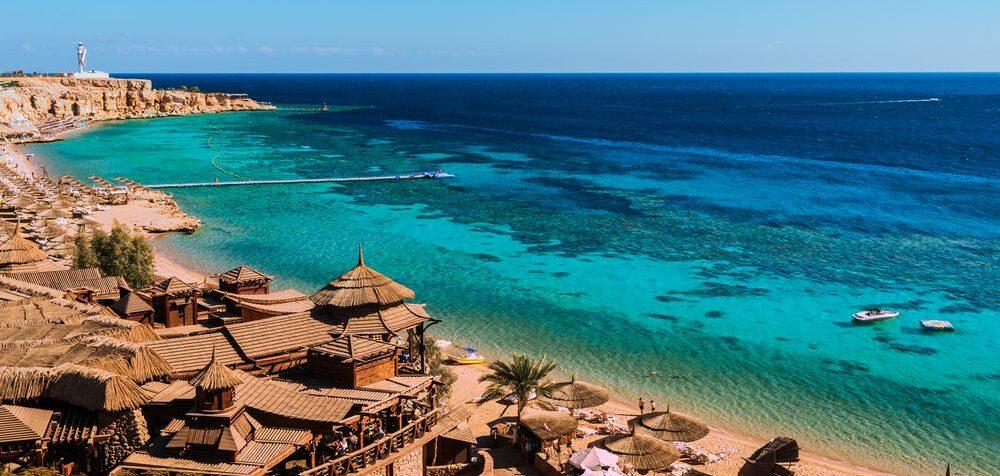Sharm El Sheik, Egypt, kam v červnu za exotikou