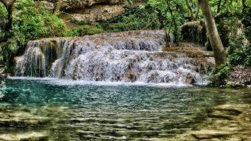 Bulharsko Krushuna Vodopád