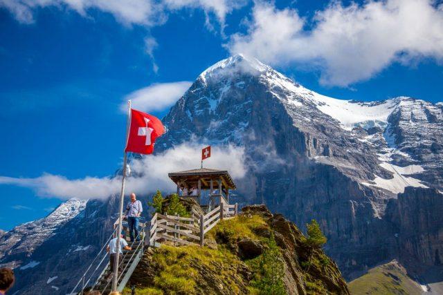 Eiger Trail Švýcarsko