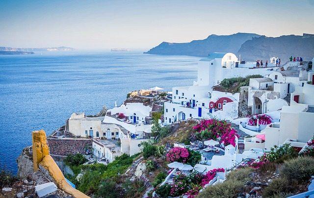 Kam na dovolenou do Řecka Santorini