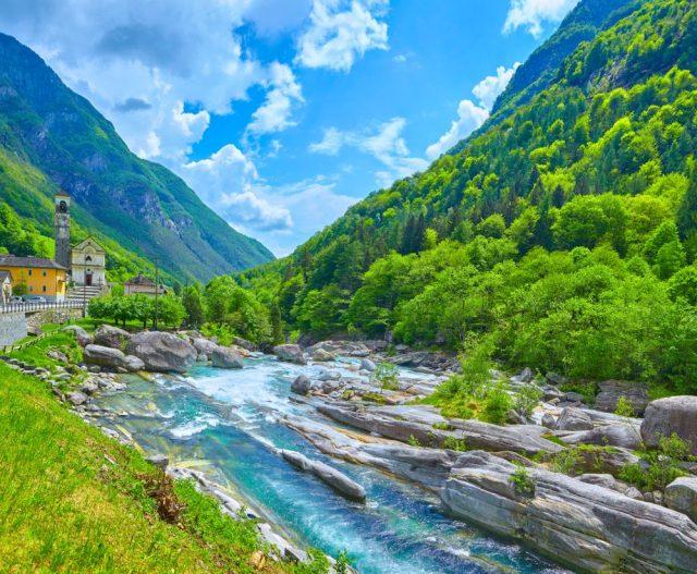 řeka Verzasca
