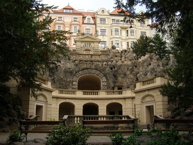 Vila Grébovka kam za romantikou v Praze
