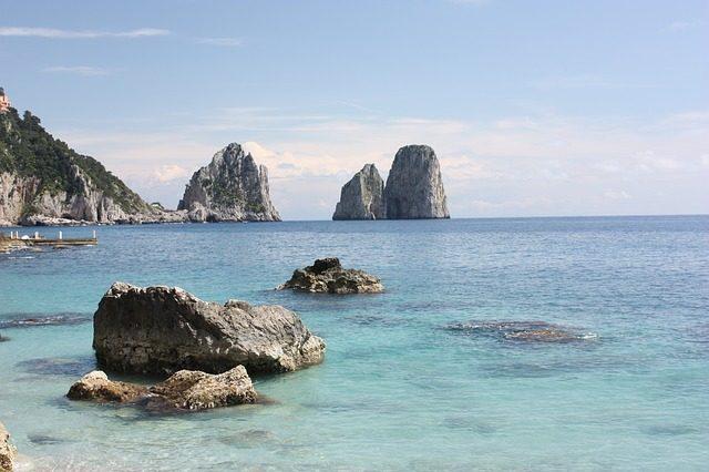 Kam do jižní Itálie Capri
