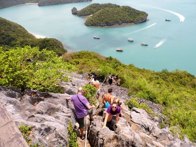 nejlepší thajské ostrovy, Ang Thong park na Koh Samui, Thajsko