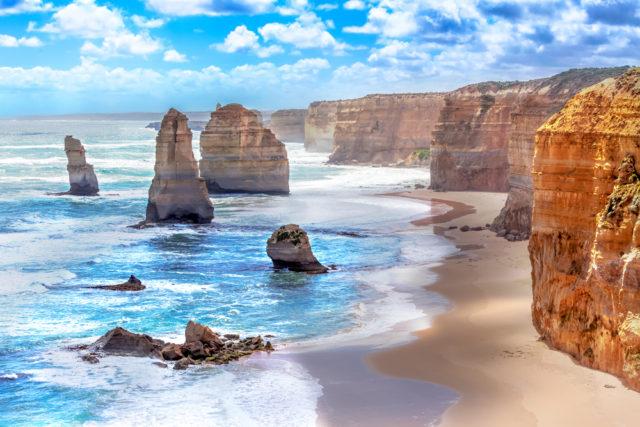 Kam v zimě za teplem, 12 apoštolů, Austrálie