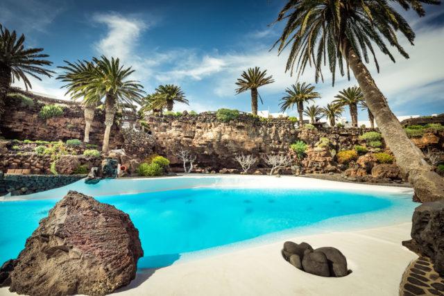 Kam v zimě za teplem, Lanzarote, Kanárské ostrovy