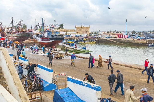 Kam v zimě za teplem, Savíra, Maroko