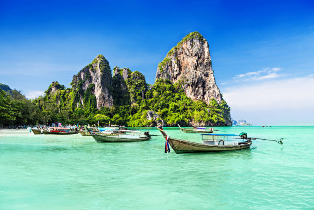 Kam v zimě za teplem Thajsko