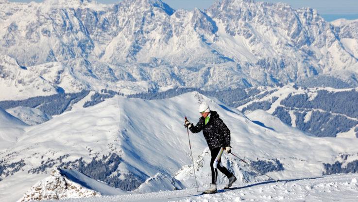 Kam na běžky do Rakouska, Kaprun, ledovec