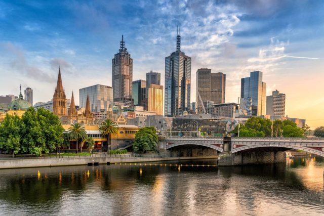 Cestování pro ženy, Melbourne, Austrálie