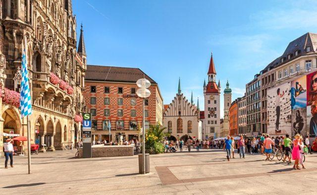 Cestování pro ženy, Mnichov, Německo
