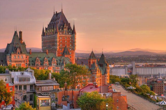 Cestování pro ženy, Québec, Kanada