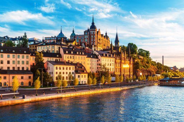 Cestování pro ženy, Stockholm, Švédsko