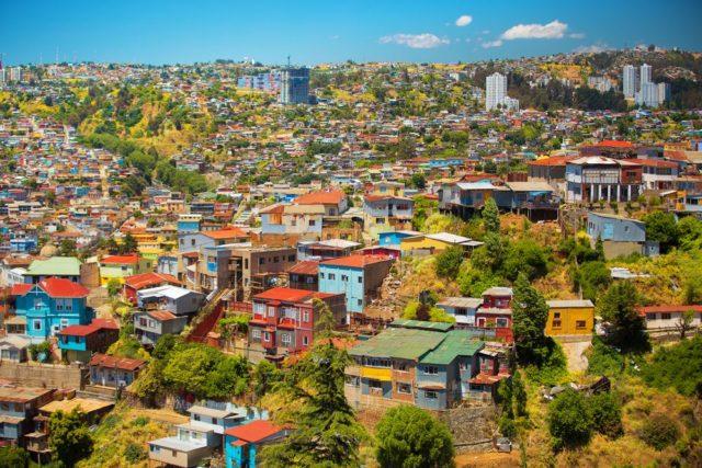 Cestování pro ženy, Valparaíso, Chille