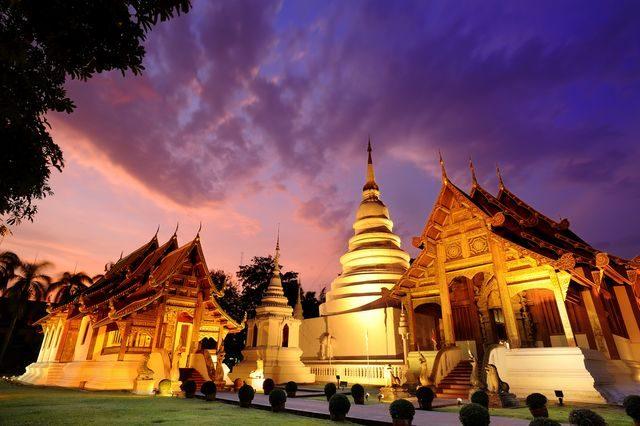 Kam cestovat do Asie, Chiang Mai, Thajsko