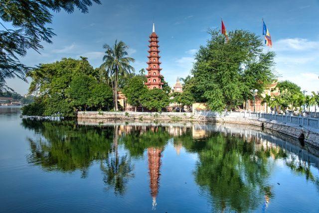 Kam cestovat do Asie, Hanoi, Vietnam