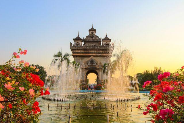 Kam cestovat do Asie, Laos, Vientiane