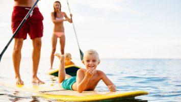 Co je paddleboard, zabava u moře