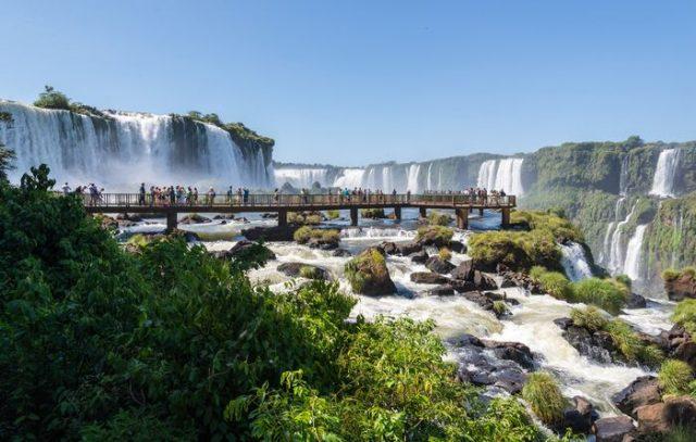 Iguazu Falls, Brazílie