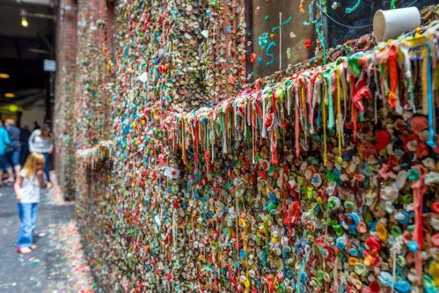 Gumová zeď, Seattle