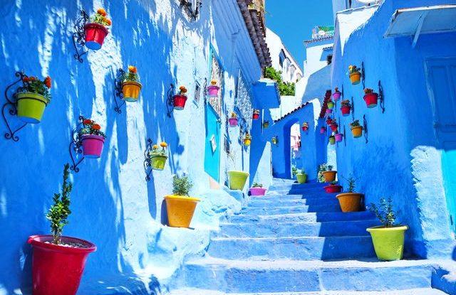 Chefchaouen-Maroko
