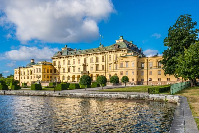 Stockholm, Drottningholmský palác