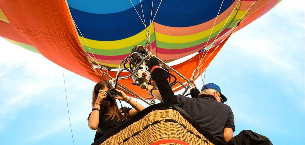 Let balonem, zážitkové lety, vyhlídkové lety