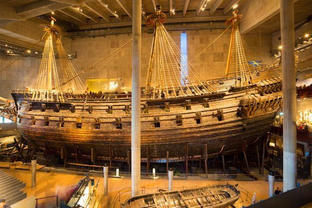 Stockholm, loď Vasa