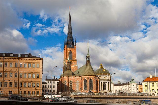 Stockholm, Riddalholmský kostel