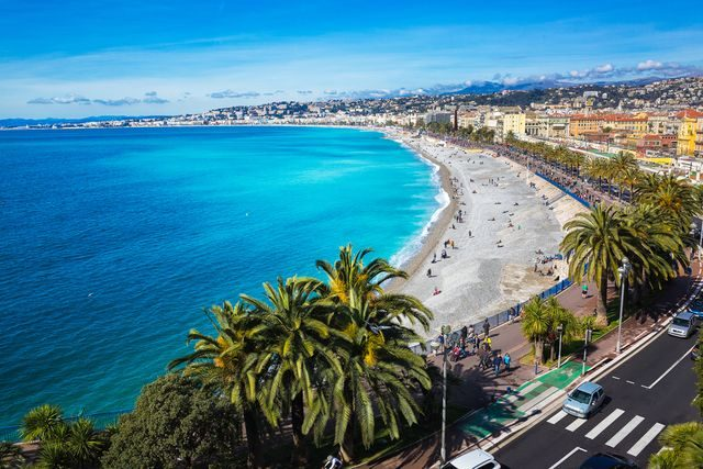Kam na podzim k moři, Nice