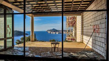 Hotel Belvedere-Dubrovnik-Chorvatsko, opuštěné hotely